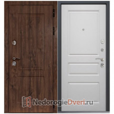 МЕТАЛЛИЧЕСКАЯ ДВЕРЬ COMMAND DOORS CHALET 02 БЕЛЫЙ МАТОВЫЙ