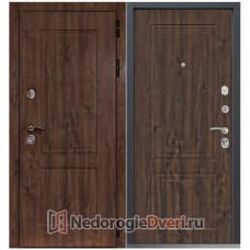 МЕТАЛЛИЧЕСКАЯ ДВЕРЬ COMMAND DOORS CHALET 33 ТЕМНЫЙ ДУБ