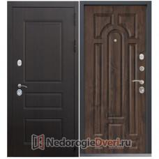 МЕТАЛЛИЧЕСКАЯ ДВЕРЬ COMMAND DOORS CLASSICA 17.02 ТЕМНЫЙ ДУБ
