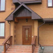 Входные металлические двери для загородного дома и дачи