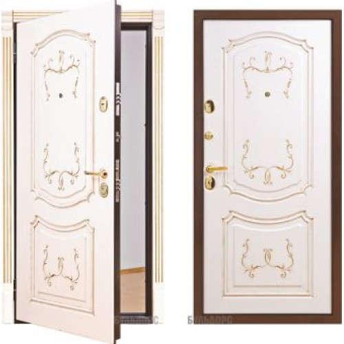 Металлическая дверь Бульдорс LUX-25P-4