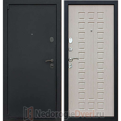 Входная дверь Art Lock 3 Беленый дуб