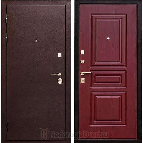 Входная металлическая дверь Art-lock-8 Махагон