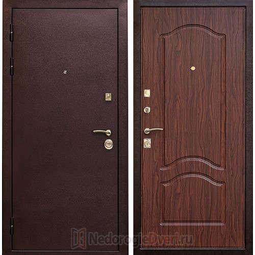 Входная металлическая дверь Art-lock-8 Орех