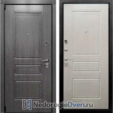 ЖЕЛЕЗНЫЕ ДВЕРИ В КВАРТИРУ ART LOCK 4S ( Железные двери в квартиру ) ЛИСТВЕННИЦА БЕЖ