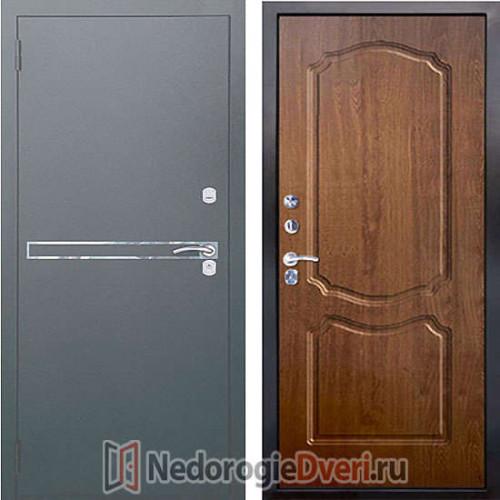 Входная металлическая дверь Аргус 2M Франк Сонет Дуб Золотой
