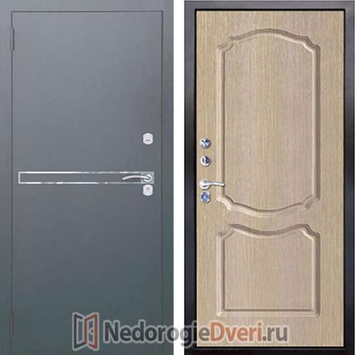 Входная металлическая дверь Аргус 2M Франк Сонет Капучино