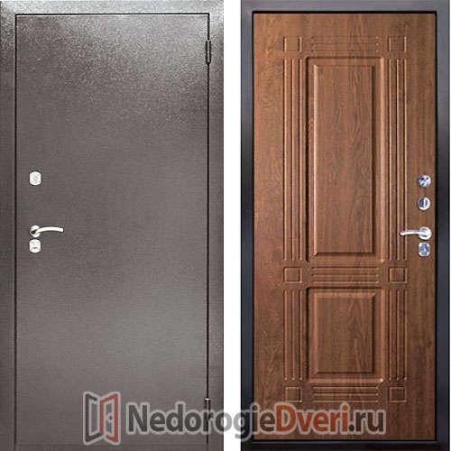 Входная металлическая дверь Аргус 2M Триумф Дуб Золотой
