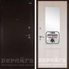Входная дверь  Берлога Гала с  зеркалом Ларче