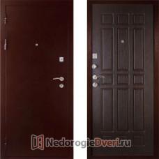 Входная дверь Дива МД 04 Медь Венге