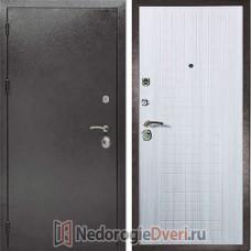 Входная металлическая дверь Дива МД 26 Сандал светлый ТРИ КОНТУРА УПЛОТНЕНИЯ