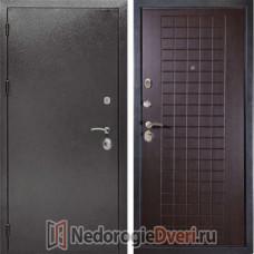 Входная металлическая дверь Дива МД 26 Венге ТРИ КОНТУРА УПЛОТНЕНИЯ