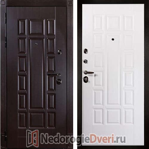 Входная дверь Дива МД 34 Чиза ТРИ КОНТУРА УПЛОТНЕНИЯ