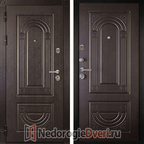 Входная дверь ДИВА  МД 31 Венге