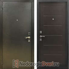 Входная металлическая дверь Стоп Сити Венге