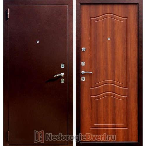 Входная металлическая дверь Стоп Гарда Орех