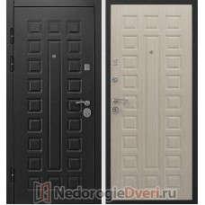 Входная металлическая дверь Геркон Сенатор 2К Белая Лиственница