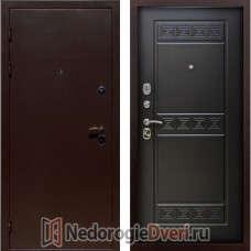 Входная металлическая дверь Геркон Троя Венге ТРИ КОНТУРА
