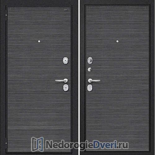 Входная дверь Groff Т3 300 Black Wood