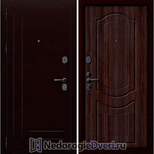 Входная дверь Groff P2 200 Тёмный Орех