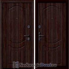 Входная дверь Groff P3 300 Тёмный Орех