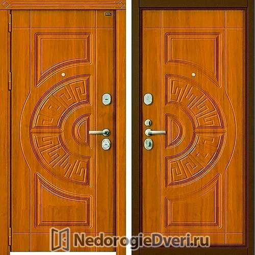Входная дверь Groff P3 302 Золотой Дуб
