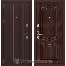 Входная дверь Groff P2 201 Тёмная Вишня