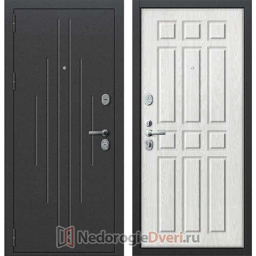 Входная дверь Groff P2 205 Белёный Дуб