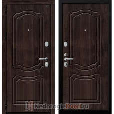 Входная дверь Groff P3 301 Тёмная Вишня