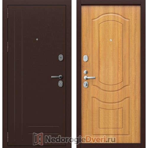Входная дверь Groff P2 200 Светлый Орех