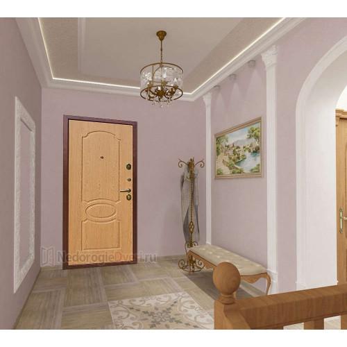 Входная дверь Art Lock 2 Дуб в интерьере (фото)