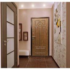 Входная дверь Art Lock 6A Берёза морёная в интерьере (фото)