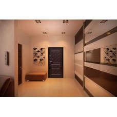 Входная дверь Стоп Эко Венге в интерьере (фото)