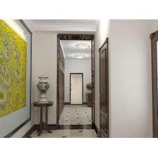 Входная дверь Триумф Белёный дуб в интерьере (фото)