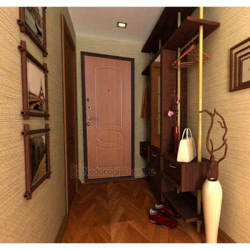 Входная дверь Триумф Классика в интерьере (фото)