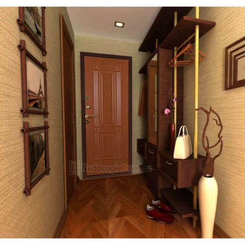 Входная дверь Триумф Клён в интерьере (фото)