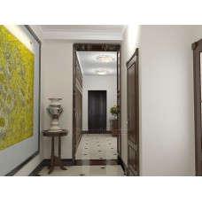 Входная дверь Триумф Венге в интерьере (фото)