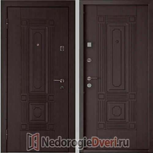 Входная металлическая дверь Кондор Мадрид Венге