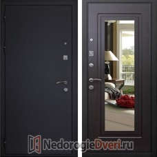 Входная дверь Кондор Престиж Венге с Зеркалом