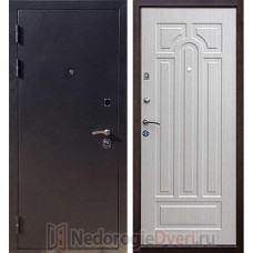 Входная металлическая дверь Лекс 5А Беленый Дуб ТРИ КОНТУРА УПЛОТНЕНИЯ