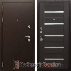Входная металлическая дверь Престиж Маэстро 7Х Венге Тиснёный