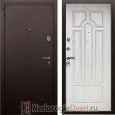 Входная металлическая дверь Престиж  PRO Белёный Дуб