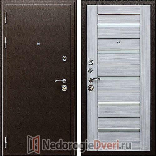 Входная дверь Престиж Маэстро 7Х Сандал Белый