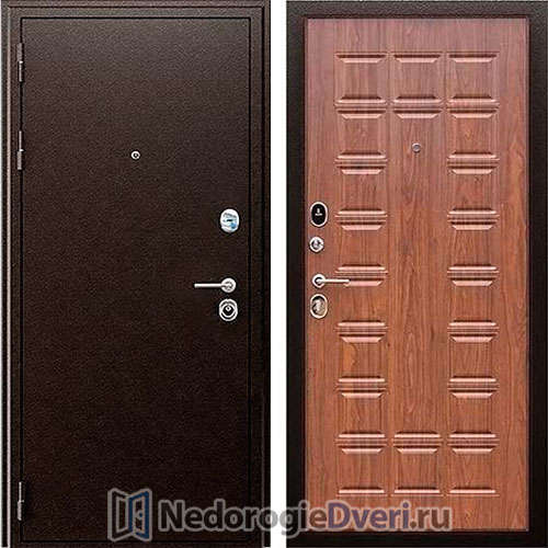 Входная дверь Престиж Spartak A Орех Темный