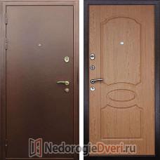 Входная металлическая  дверь Престиж Грация Дуб Светлый