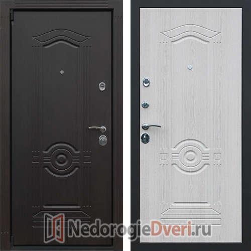 Входная дверь Престиж Гермес Беленый Дуб