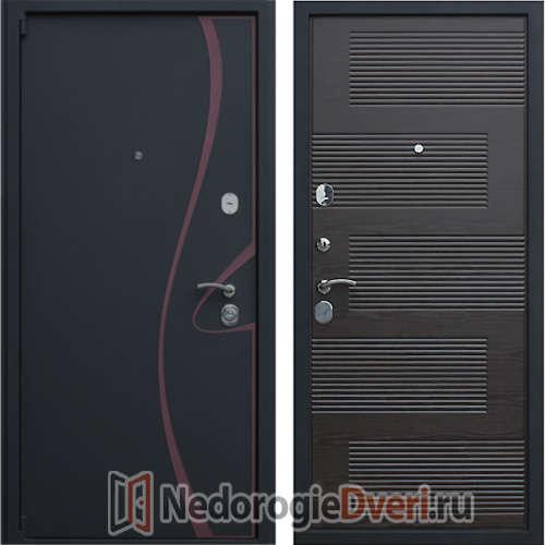 Входная металлическая дверь Престиж Зетта Венге
