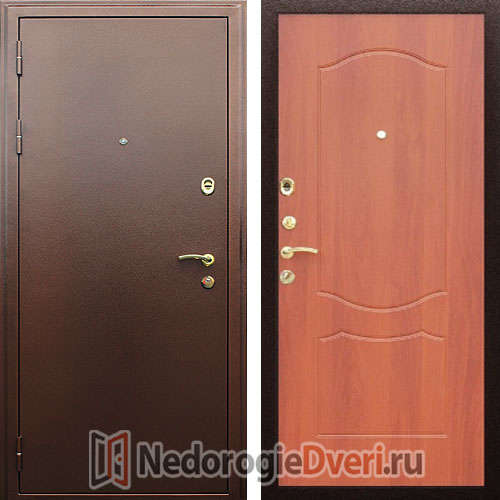 Входная дверь Престиж Триумф Итальянский орех