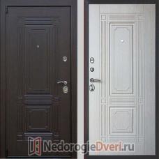 Входная дверь Престиж Викинг Белёный дуб
