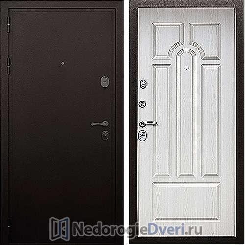 Входная дверь Престиж  PRO Белёный Дуб